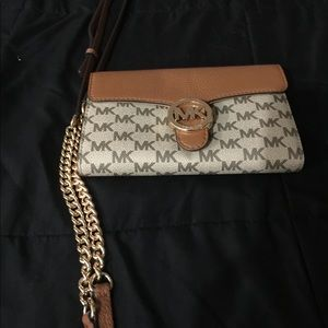 Michael Kors crossbody wallet/purse